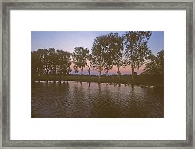 Cooinda Northern Territory Australia Framed Print