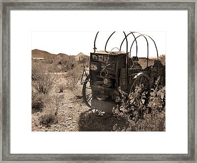 Cook Wanted Framed Print