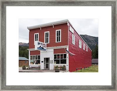 Cooke City General Store Montana Framed Print