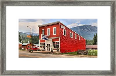 Cooke City Store Framed Print by Adam Jewell