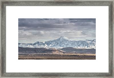 Cookes Peak Framed Print