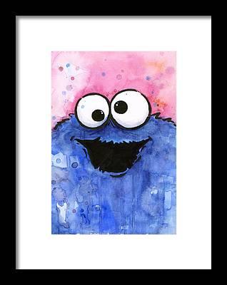 Cookie Framed Prints