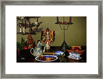Cookies For St Nick Framed Print