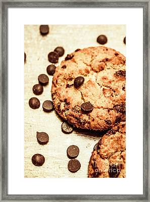 Cookies With Chocolare Chips Framed Print