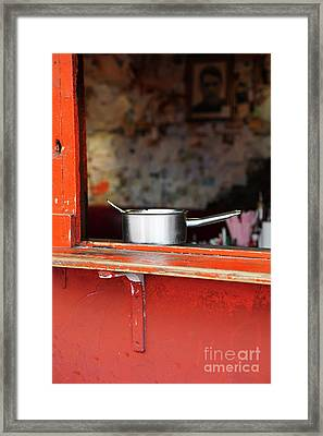 Cooking Pot Framed Print