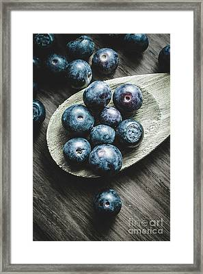 Cooking With Blueberries Framed Print by Jorgo Photography - Wall Art Gallery