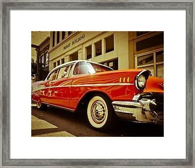 Cool '57 Framed Print
