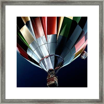 Cool Air Balloons Framed Print by David Patterson