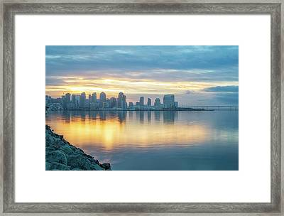 Cool And Warm Framed Print