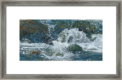 Cool Blue Framed Print