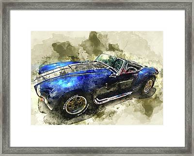 Cool Cobra Framed Print