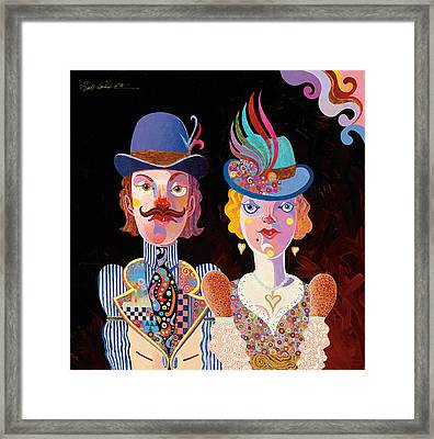 Cool Connections Framed Print by Bob Coonts