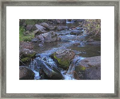 Framed Print featuring the photograph Cool Creek by Tammy Sutherland