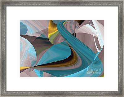 Cool Curvelicious Framed Print