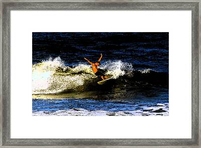 Cool Dude Framed Print by David Lee Thompson