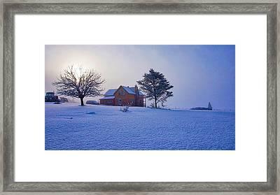Cool Farm Framed Print
