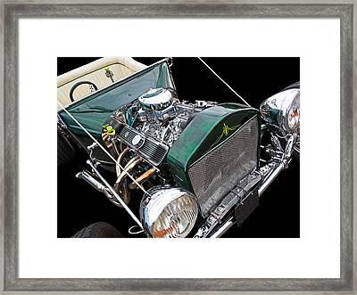 Cool Ford T Bucket Hot Rod Framed Print