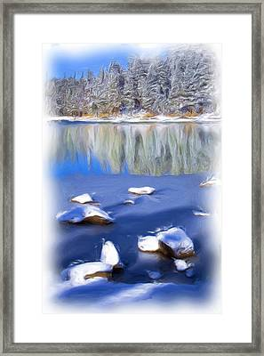 Cool Impression Framed Print by Chris Brannen