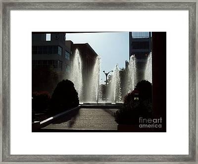 Cool In St. Louis Framed Print by Denise Workheiser