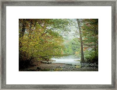 Framed Print featuring the photograph Cool Morning by Iris Greenwell