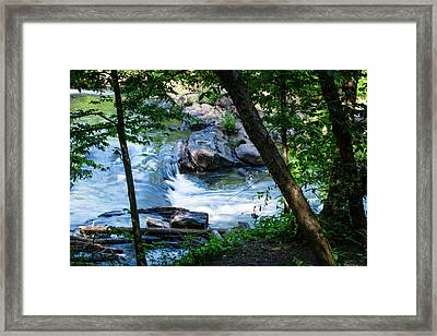 Cool Mountain Stream Framed Print