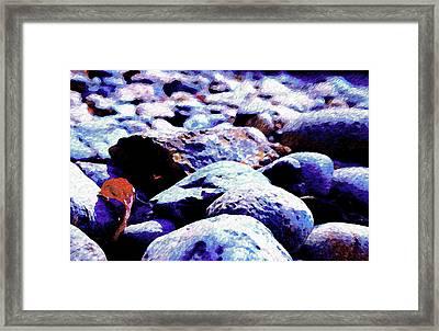 Cool Rocks- Framed Print