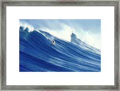 Cool Runnings Framed Print by Sean Davey