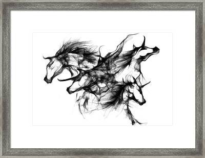 Cool Sketch 91 Framed Print by Len YewHeng