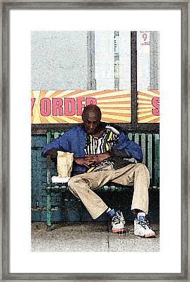 Cool Snap Framed Print by Joe Jake Pratt