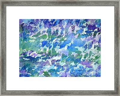 Cool Twilight Framed Print