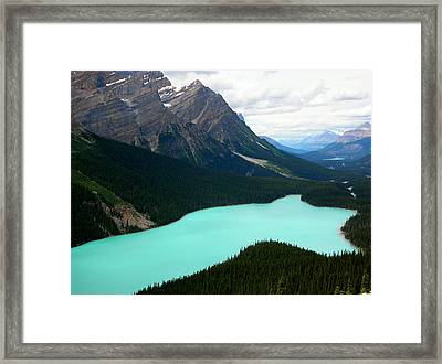 Cool Water Framed Print by Matt Brennan