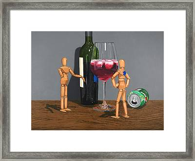 Coolers Are Cool Framed Print