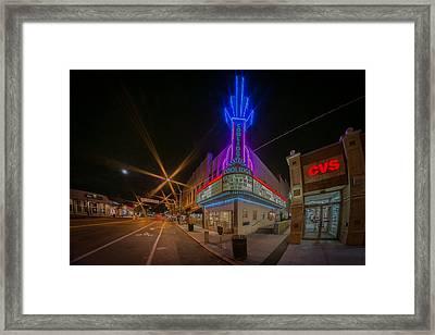 Coolidge Corner  Framed Print