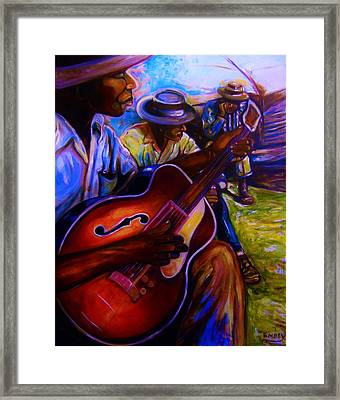 Cooling Out Framed Print