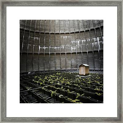 Framed Print featuring the photograph Cooling Tower Petit Maison by Dirk Ercken