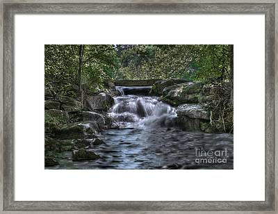 Cooling Waters  Framed Print by Tamyra Ayles