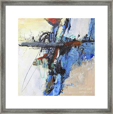 Coolly Collected Framed Print by Ron Stephens