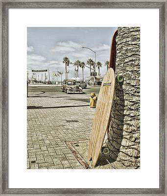 Coolness Required Framed Print by Rich Beer