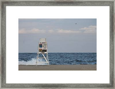Cools Sands Framed Print