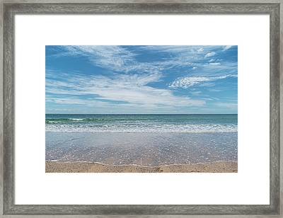 Coonah Waves Framed Print