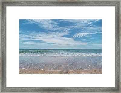 Coonah Waves Framed Print