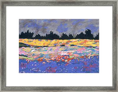 cooney sunset I Framed Print