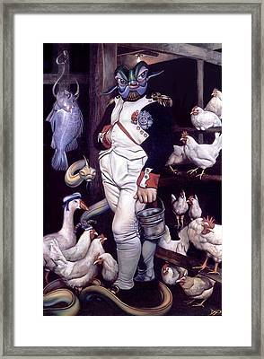 Coop D'etat Framed Print by Patrick Anthony Pierson