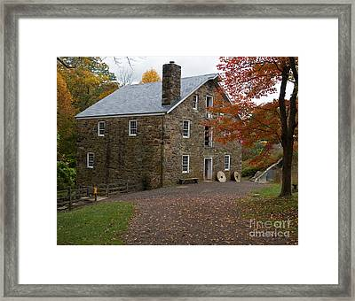 Cooper Mill Fall Framed Print