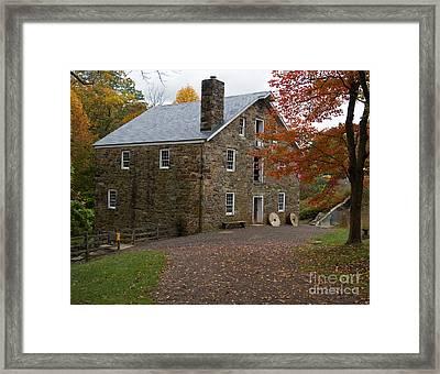 Cooper Mill Fall Framed Print