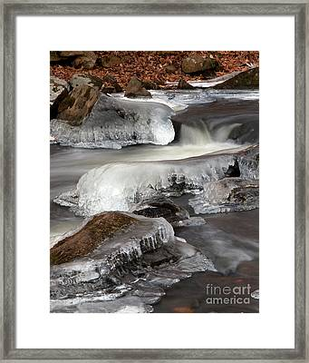 Cooper Mill Ice Framed Print