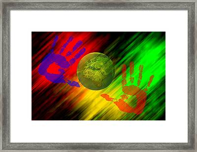 Cooperation Framed Print