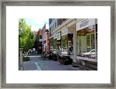 Cooperstown Framed Print by Bob Whitt