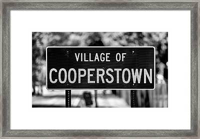Cooperstown Framed Print
