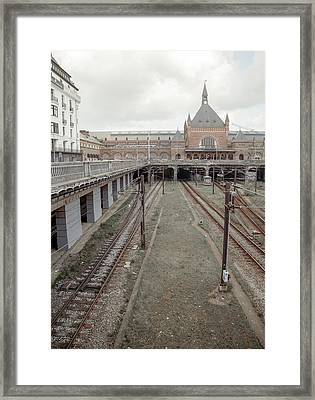 Copenhagen Central Station Framed Print by Betsy Knapp